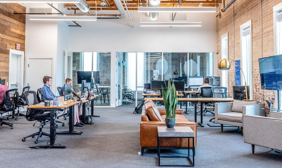how to finance a start-up - start-up business office space