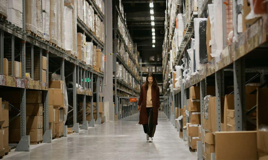 import export finance - worker in import export warehouse