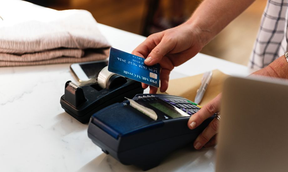 overdraaft and revolving credit faclities - card payment terminal