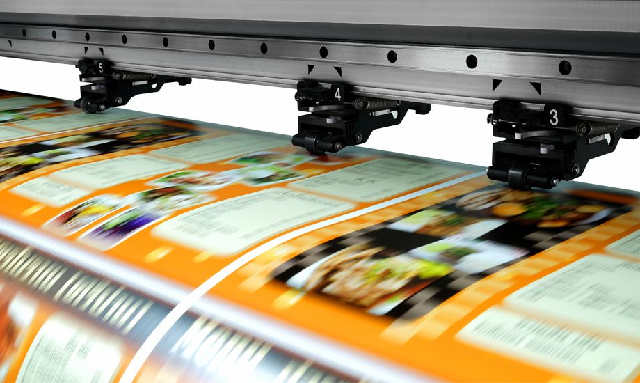 printing and publishing industry finance - printing press produces some printed work